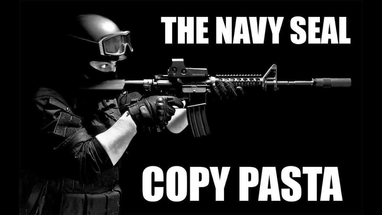 Us Navy Seals Roblox The 20 Best Navy Seal Copypasta Memes Plus Meaning Backstory Strong Socials Funny Memes