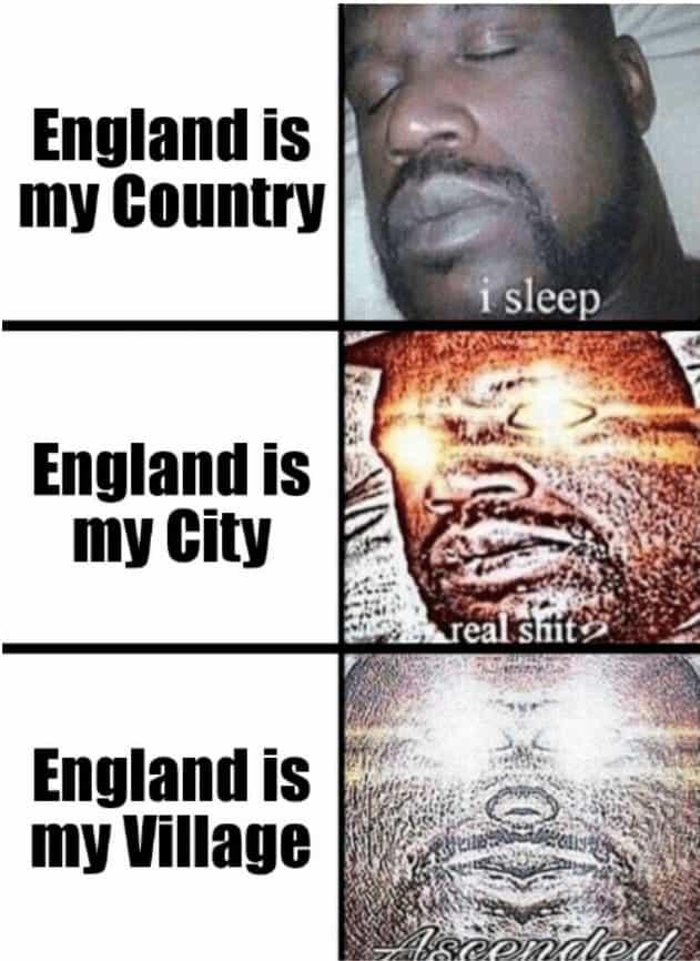 england is my city shaq meme