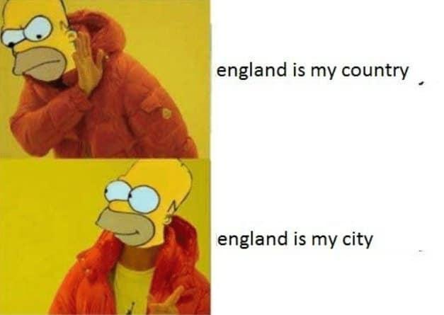 simpsons england is my city meme