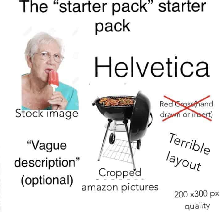 starter pack generic example