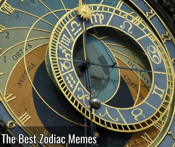 the best zodiac memes