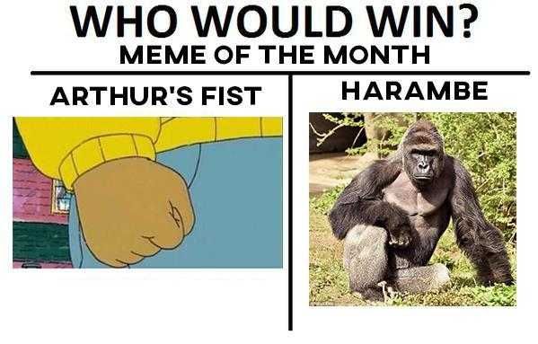 who would win arthur fist meme